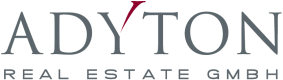 Logo der Adyton Real Estate GmbH
